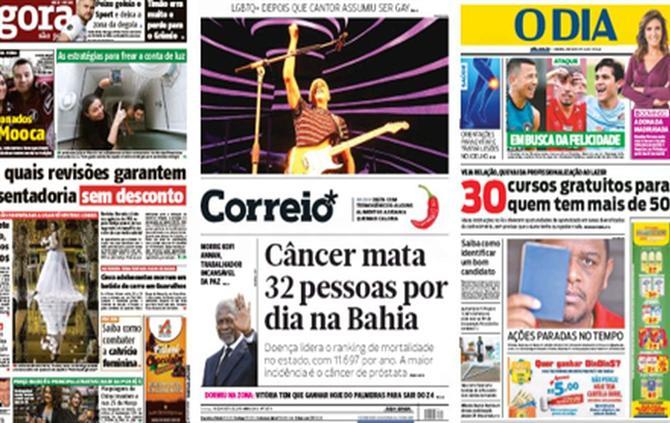 A BOLA - Brasileirão domina as conversa (capas de 19 de agosto) (Revista de  Imprensa) ae304491fc3b1
