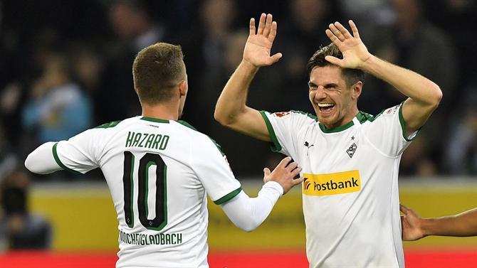 Monchengladbach é vice-líder com goleada sobre o Hannover. Alemanha ... fb01ee0208500