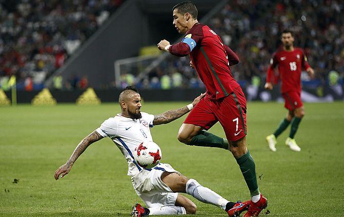 Vidal e Ronaldo