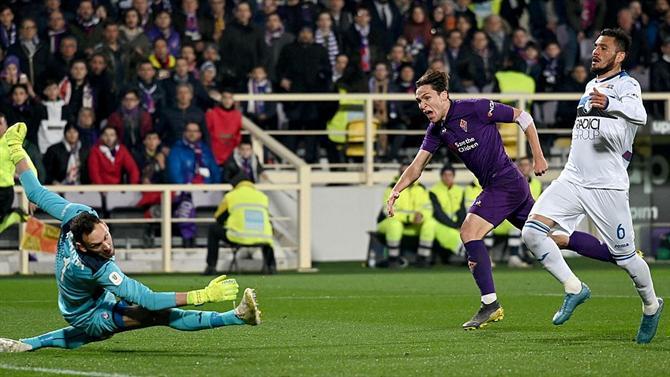 A BOLA - Fiorentina e Atalanta empatam com chuva de golos (Taça de Itália) 608d7a1768fab