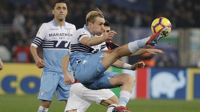 A BOLA - Lazio e Milan empatam a zero (Taça de Itália) 85720109af21d