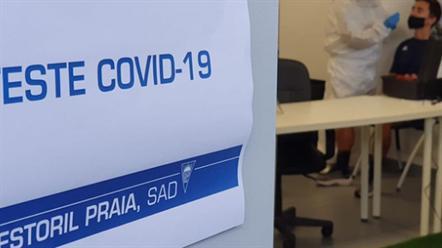 Despistagem ao Covid-19 no arranque