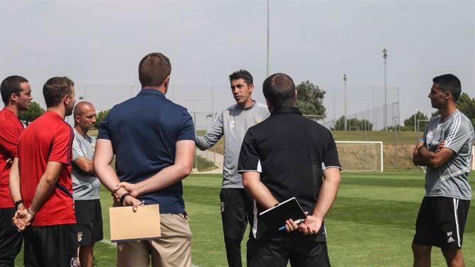 Treinadores da MLS no Seixal - abola.pt