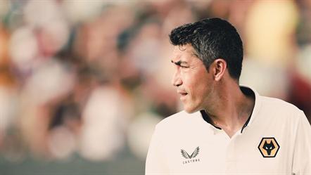 Bruno Lage estreia-se a vencer como treinador do Wolverhampton