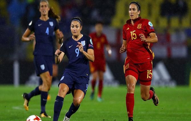 Portugal perde e deixa Europeu feminino