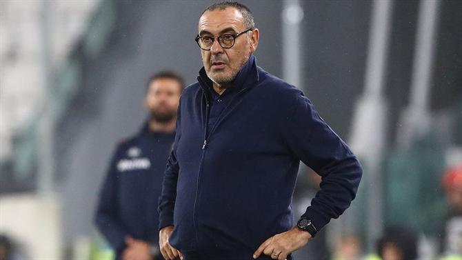 Futuro de Sarri depende de prestação na Champions