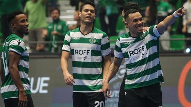 f3b21629f5 A BOLA - Sporting candidato a melhor equipa do ano (Futsal)