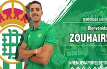 Zouhair Feddal (Fonte: Site Oficial Real Betis)