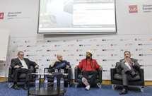 José Manuel Delgado, Carlos Gonçalves, Fábio Paim e Joaquim Evangelista (Foto António Azevedo/ ASF)