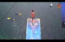 Adriana Jiménez e Orlando Duque triunfam no «Red Bull Cliff Diving»