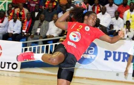 Angola no grupo B do Campeonato do Mundo de Andebol