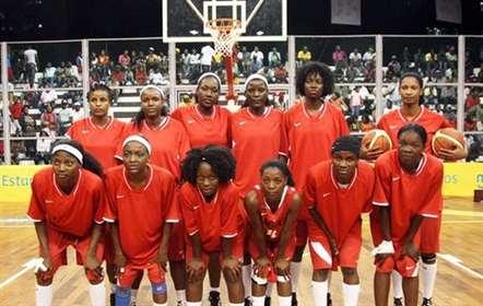 Seleção feminina de basquetebol (sub-18) termina em segundo no grupo A do Afrobasket