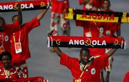 Comitiva olímpica angolana já está no Rio de Janeiro