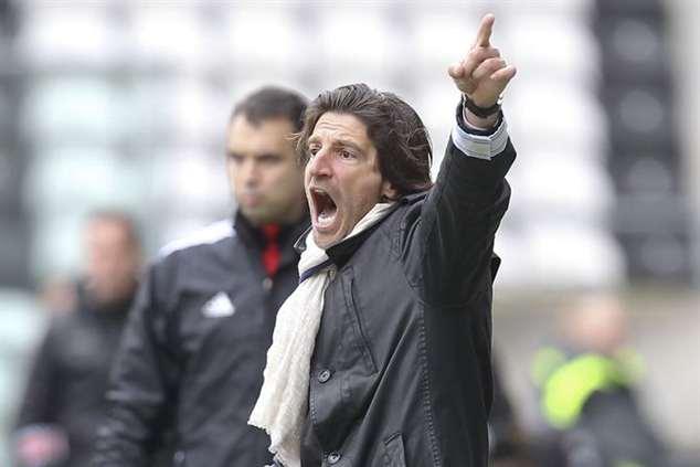 Jorge Simão, treinador do Belenenses