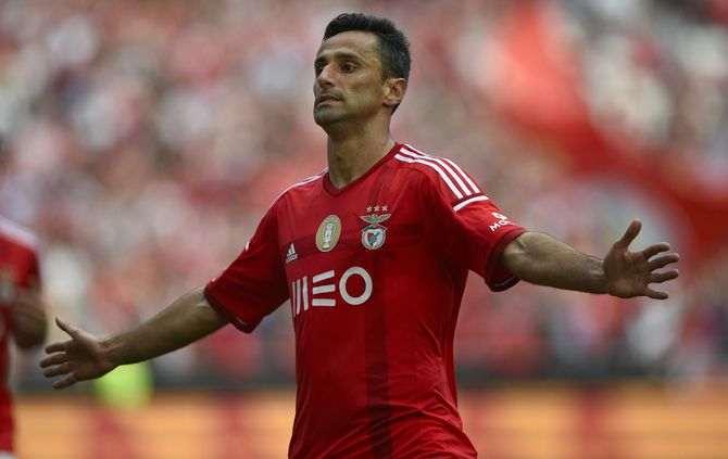 Jonas, avançado do Benfica