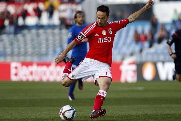 Jonas marcou os dois golos da vitória do Benfica sobre o Belenenses