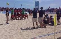 Seleção de futebol de praia de Portugal vence Espanha (3-2) no «Sal Beach Soccer»