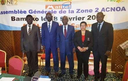 Filomena Fortes na Associação de Comités Olímpicos Nacionais Africanos