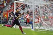 Barcelona goleia Gijón (5-0)