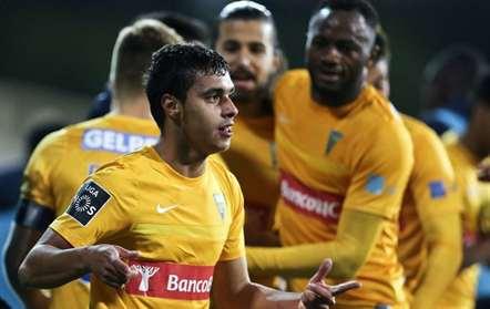 Alisson fez o primeiro golo do Estoril