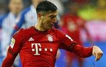 Guardiola elogia profissionalismo de Lewandowski