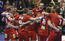 Noruega apurou-se pela primeira para umas meias-finais de um Mundial (Foto AP)