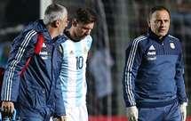 Maradona pede para deixarem Messi em paz