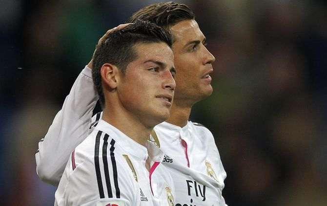 James e Ronaldo