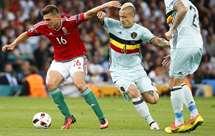 Bélgica goleia (4-0) a Hungria e está nos quartos de final