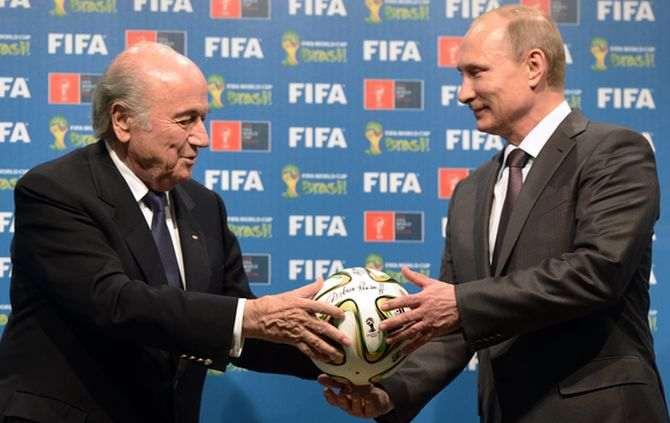 Blatter e Putin