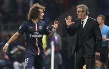 «Era impossível não ter esta conversa com David Luiz» - Blanc