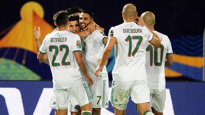 Resultado de imagem para argelia vence guiné