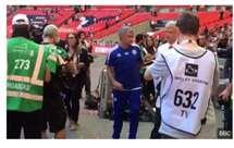 Wenger e Mourinho (BBC)