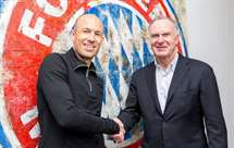 Robben renovou até 2018 (Foto: Twitter do Bayern)