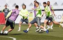 Ronaldo fez treino completo