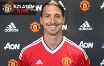 Manchester United confirma contratação de Ibrahimovic