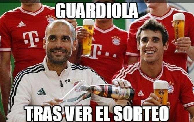 Em Espanha já se ironiza a sorte grande que saiu ao Bayern Munique