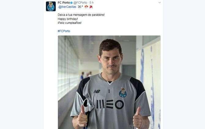 Casillas pode estar de saída do FC Porto