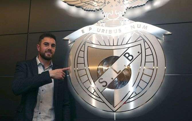 Foto do Twitter do Benfica