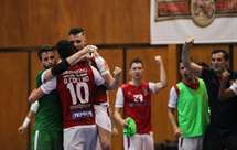 Braga empata a final do campeonato de futsal