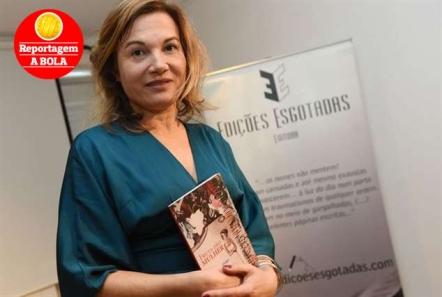 Isabel de Santiago apresentou a nova obra ao início da noite desta terça-feira, na Casa Fernando Pessoa, em Lisboa