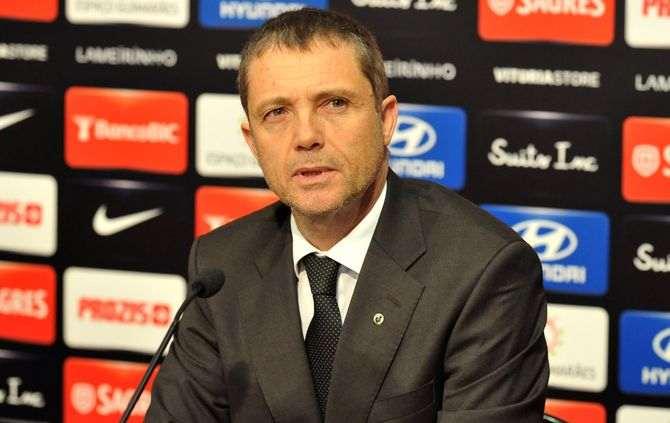 Pedro Martins é o novo treinador do Vitória de Guimarães