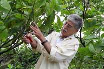 Claudio Carollo, italiano que investiu com sucesso numa plantação de cacau de São Tomé