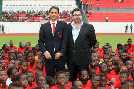 «Grato a Vieira pelo que tem feito por nós» - Sérgio Marques,  presidente do Benfica de Bissau