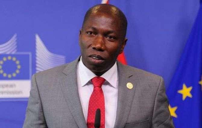 O primeiro-ministro da Guiné-Bissau, Domingos Pereira