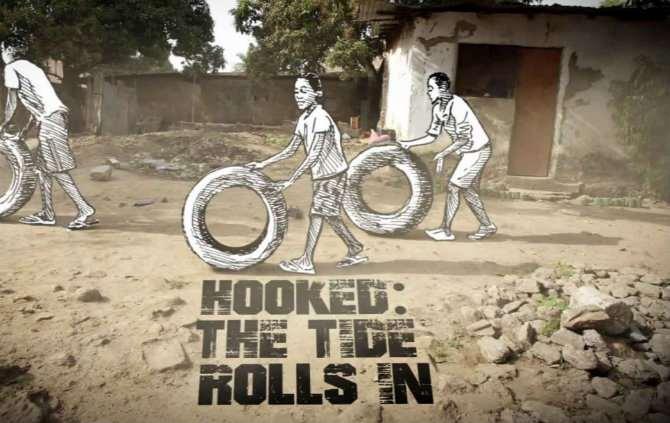 Imagem do genérico da série Hooked