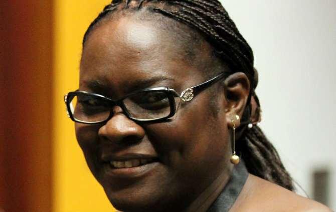 A ministra da Educação da Guiné-Bissau, Odete Semedo