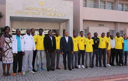 Governo reitera total apoio à seleção de futsal no Mundial da Colômbia