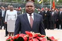 Presidente da República Filipe Nyusi é o líder da Frelimo