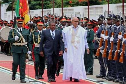 Presidente Filipe Nyusi recebeu homólogo da República Árabe Saaraui Democrática